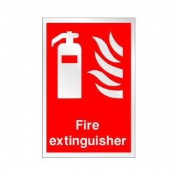 Prestige Fire Extinguisher Sign 150 x 200mm