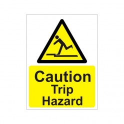 Caution Trip Hazard Non Slip Floor Sign