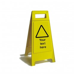 Custom Text Free Standing Sign 600mm