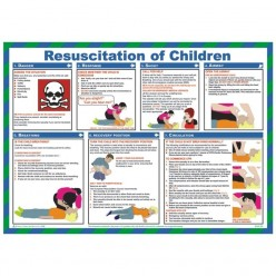 Resuscitation Of Children Poster