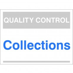 Quality Control Collections...