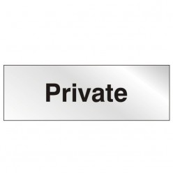Prestige Private Sign