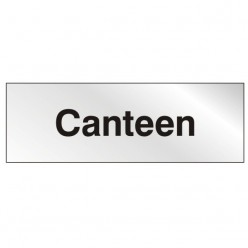 Prestige Canteen Sign