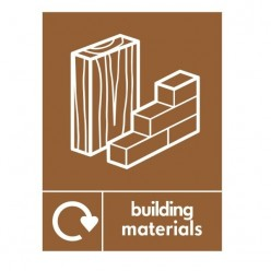 Building Materials Recycling Sign