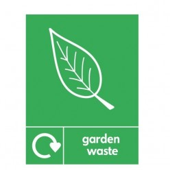 Garden Wste Recycling Sign