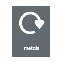 Metals Recycling Sign