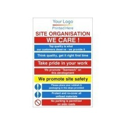 Corporate Site Organisation Sign