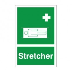 Stretcher First Aid Sign - 200mm x 300mm