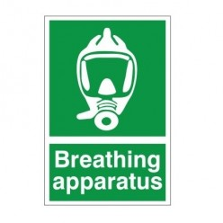 Breathing Apparatus First Aid Sign - 200mm x 300mm
