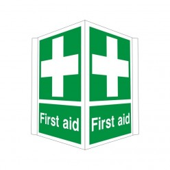 First Aid Projecting Sign 400 x 300mm
