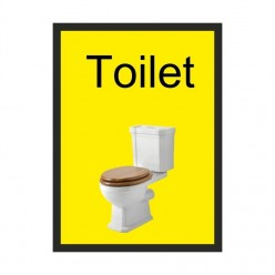 Toilet Dementia Sign 200 x 300mm