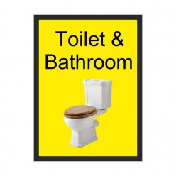Toilet & Bathroom Dementia Sign 200 x 300mm