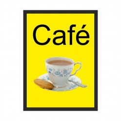 Cafe Dementia Sign 200 x 300mm