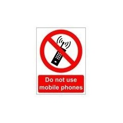 Do Not Use Mobile Phone...