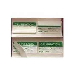 Calibration Labels Pack of 100