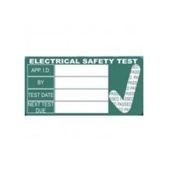 Pat Testing Labels