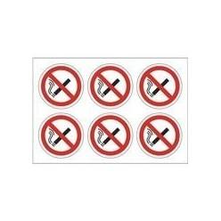 No Smoking Symbols Pack of 24