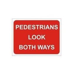 Pedestrians Look Both Ways