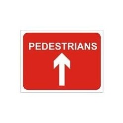 Pedestrians Straight Ahead