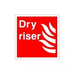 Dry Riser Sign - 200mm x 200mm