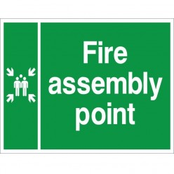 Fire Assembly Point Sign...