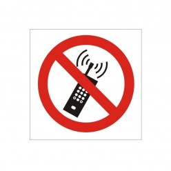 No Mobile Phone Sign 200 x...