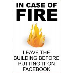 In Case Of Fire Facebook