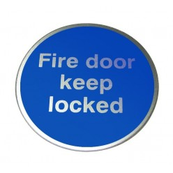 Fire Door Keep Locked...