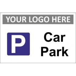 car park sign with or without your logo