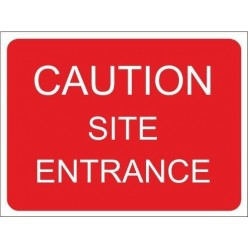 This entrance must be kept clear 600x450mm stanchion sign