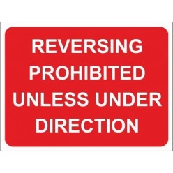 No pedestrian access 600x450mm stanchion sign