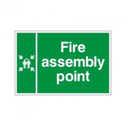 Fire Assembly Point Double Sided Sign
