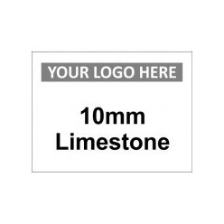 10mm Limestone Custom Logo Sign