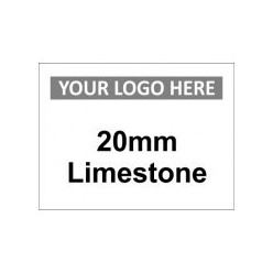 6mm Limestone Custom Logo Sign