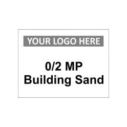 0/2 MP Building Sand Custom Logo Sign