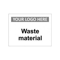 Waste Material Custom Logo Sign