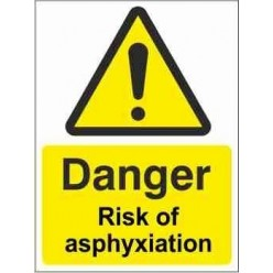 Risk Of Asphyxiation Warning Sign