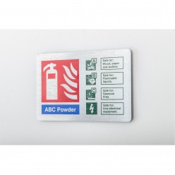 Prestige ABC Powder Sign...