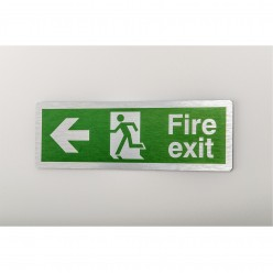 Prestige Fire Exit Arrow...