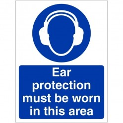 Ear Protection Must Be Worn...
