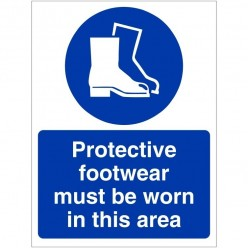 Protective Footwear Must Be...