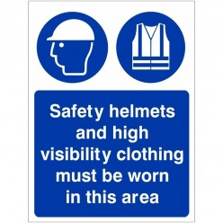 Safety Helmets And High...