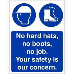 No Hard Hats, No Boots, No...