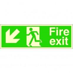 Photoluminescent Fire Exit...
