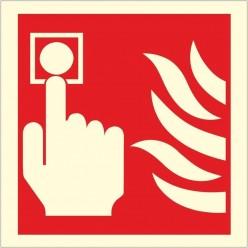 Photoluminescent Fire Alarm...