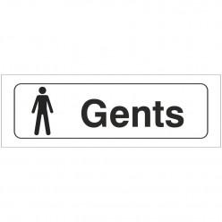 Male Toilets Door Sign...