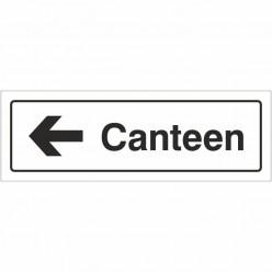 Canteen Left Door Sign...