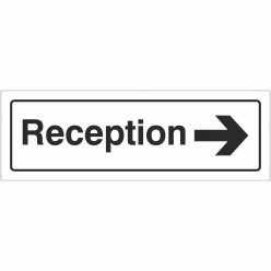 Reception Right Door Sign...