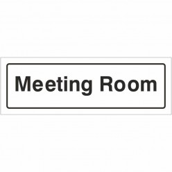 Meeting Room Sign 300 x 100mm