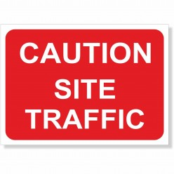 Caution Site Traffic Road...